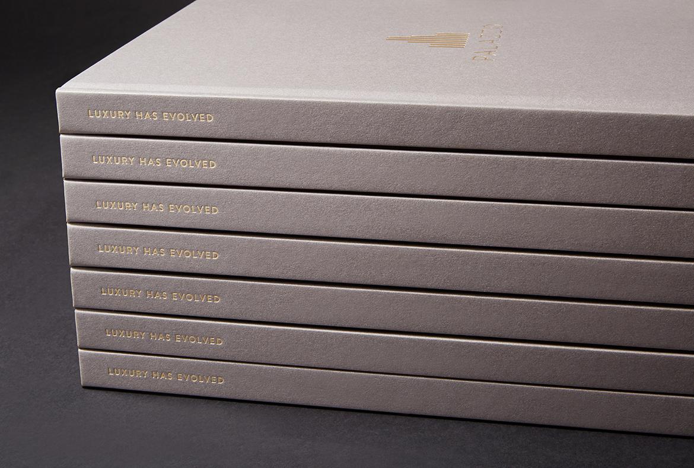 Palazzo Stacked Brochures